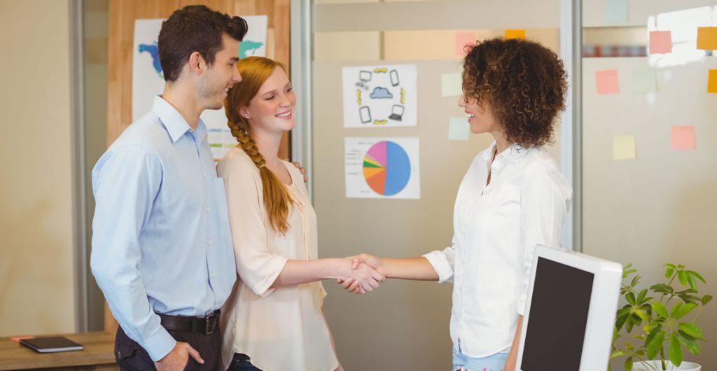 Meeting & Greeting Customers